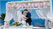梦幻的蓝白世界圣托里尼婚礼_时光海外摄影