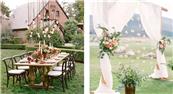 JUSERE·分享|做好这些细节,让你的草坪婚礼美c